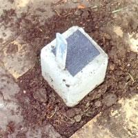 Skär också till lämpligt stora bitar grundpapp