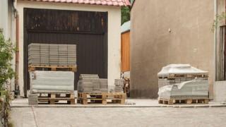 Trädgårdsplattor och altangolv av betong