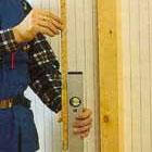 Mäter reglar för dörröppningen