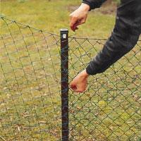 Fantastisk Stängsel - Så här sätter du upp ett stängsel av nät | dinbyggare.se PI-02