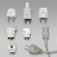 Stickproppar för uttag och lampproppar