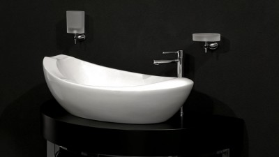 Materialfrossa bland badrumsporslinet