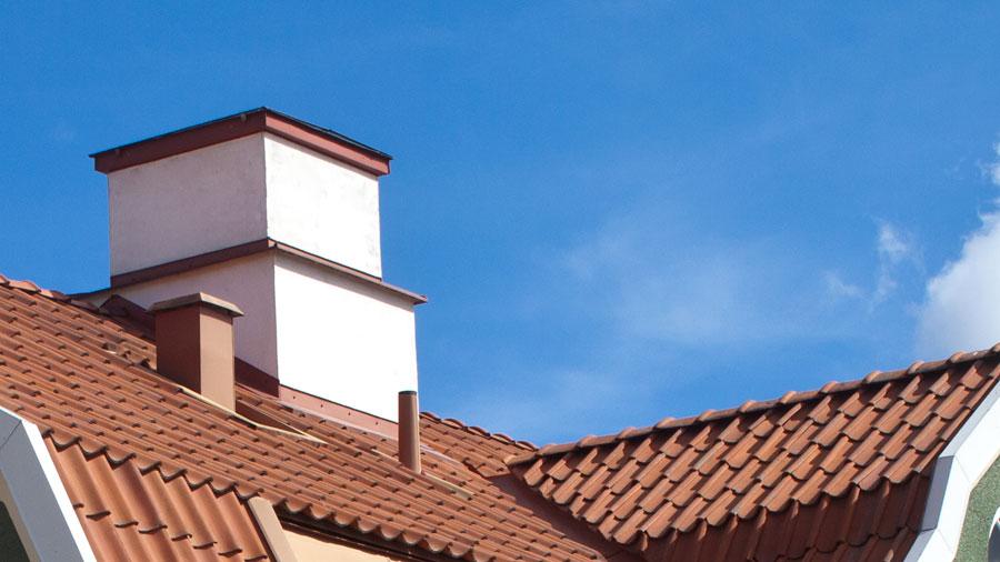 Rörgenomföring på tak