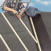 Vinkelrännor på taket