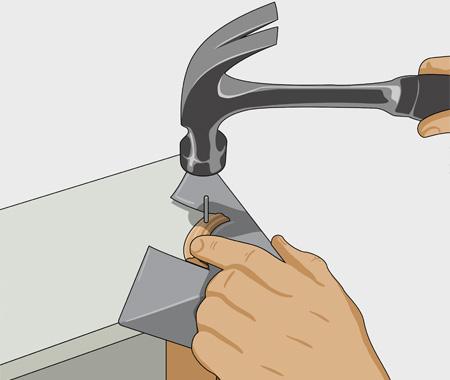Måla fronten på kökslådorna. bild 2
