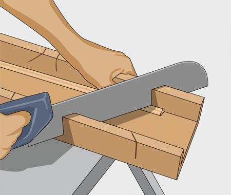 Måla fronten på kökslådorna. bild 3