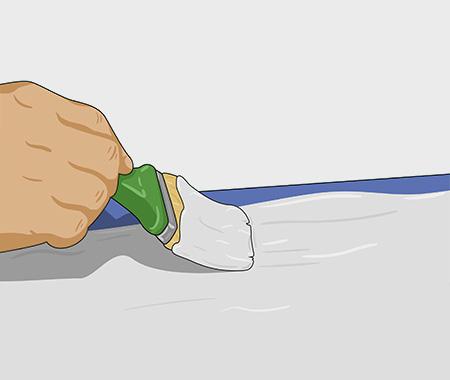 Måla köksluckor med dekorfärg. bild 2