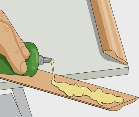 Måla köksluckor med furulister. bild 3