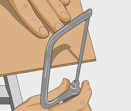 Måla köksluckor med spegel av masonit. bild 2