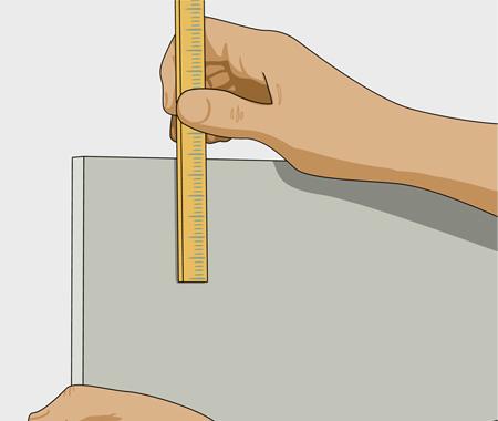 Sätta dekorlist och måla köksluckor. bild 1