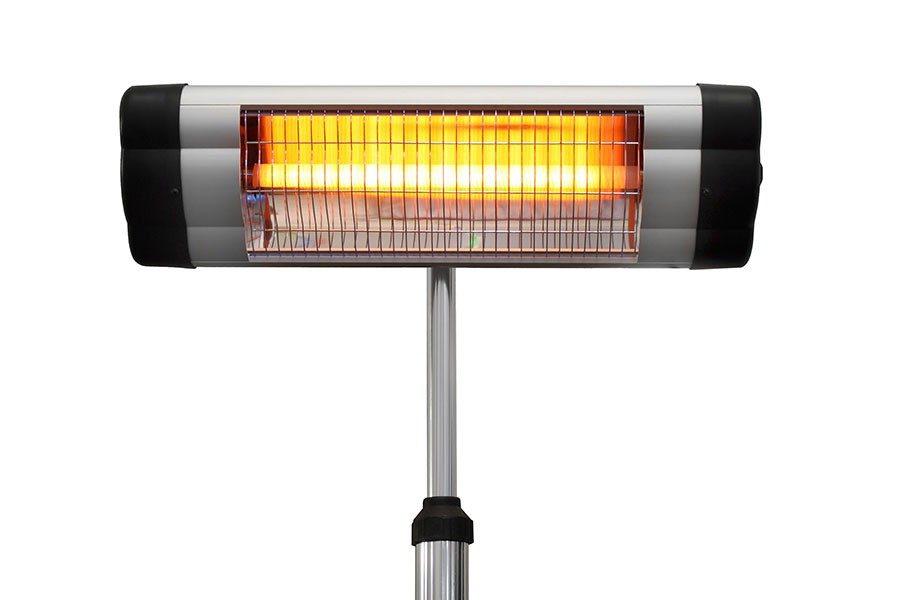 infravärmare som lampa