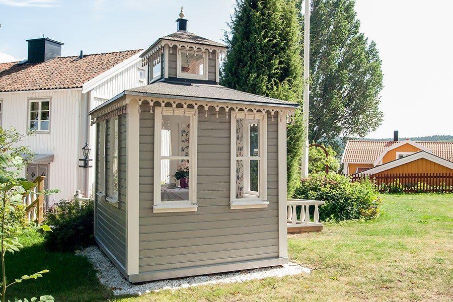 Underbar Lusthus, välja byggsats eller platsbyggt? tips |dinbyggare.se AV-65