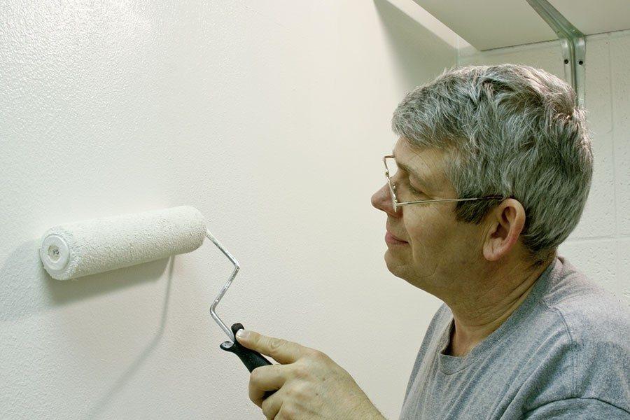 Måla om målade väggar inomhus - Så här gör du  b4f299e6b76ae