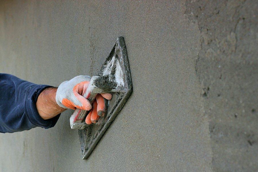 laga betongvägg källare